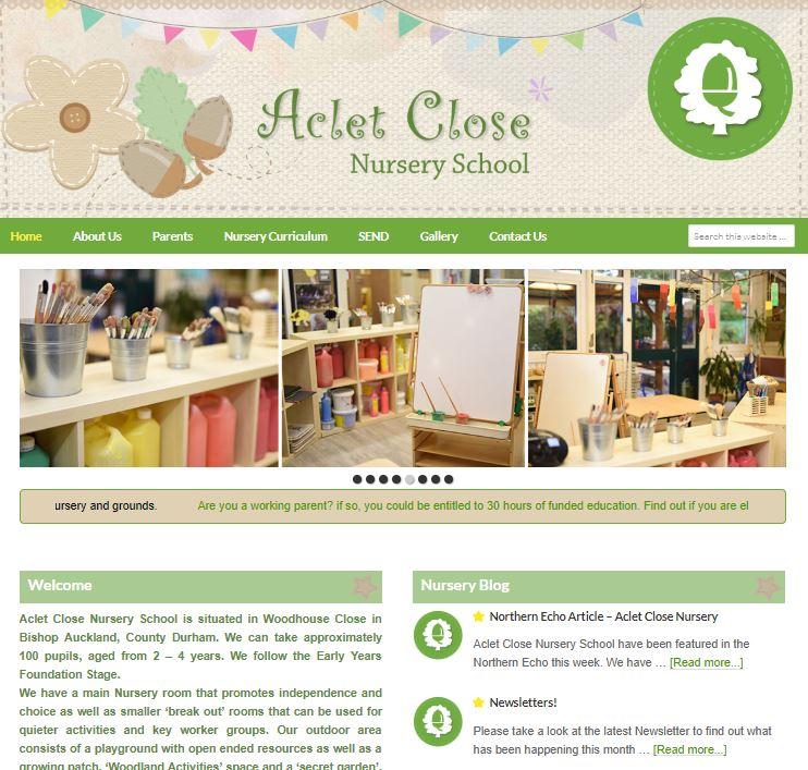 Aclet Close Nursery School